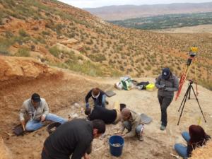 Mission de Fouille paléonotologique de 2019. (photo projet UMP-PHES)